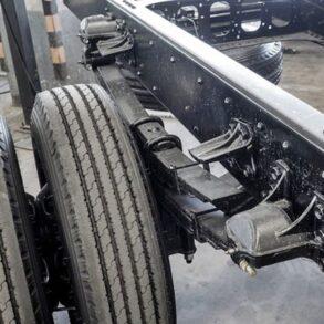 suspensión de vehículos pesados