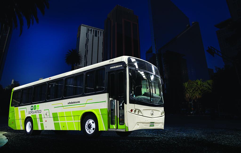 Scholastico invierte en tecnología y seguridad para el transporte de pasajeros
