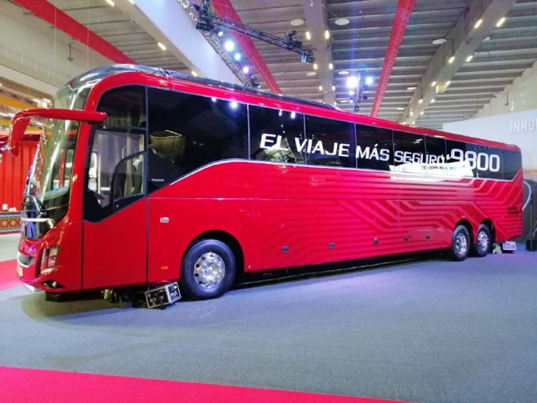 Volvo 9800 Expo Transporte ANPACT 2019