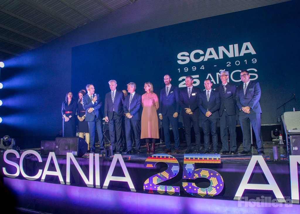 Scania 25 aniversario Alianza Flotillera