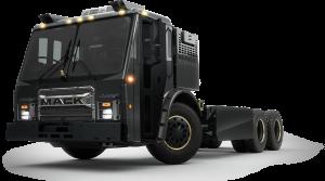 Mack busca ser líder en transporte de recolección de basura.
