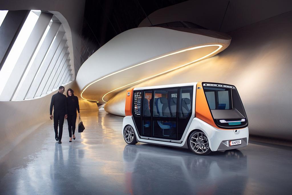 transporte eléctrico, autónomo y modular