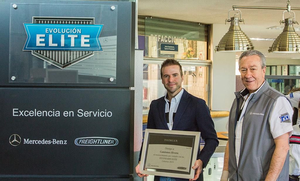 Camiones Rivera recibe certificación Evolución Élite