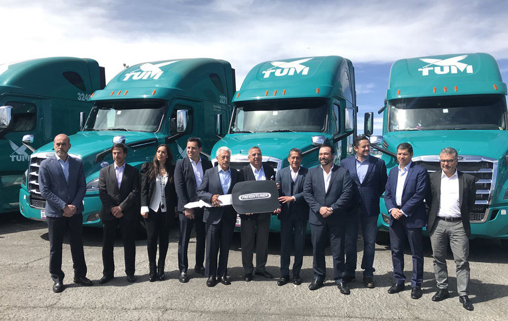 TUM recibe 105 unidades del Nuevo Cascadia