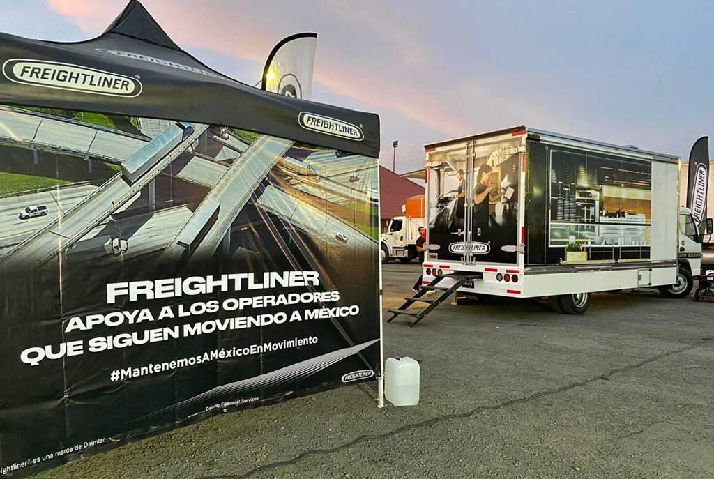 Freightliner agradece labor de operadores