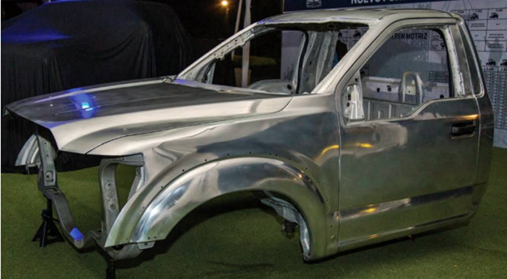 Uso de aluminio para fabricar camiones