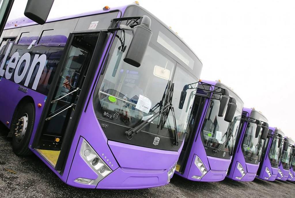 Autobuses chinos recorrerán Nuevo León
