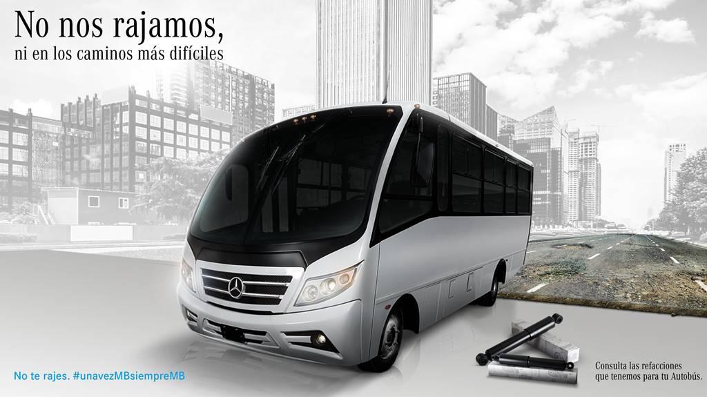 Mercedes Benz AUtobuses lanza campaña