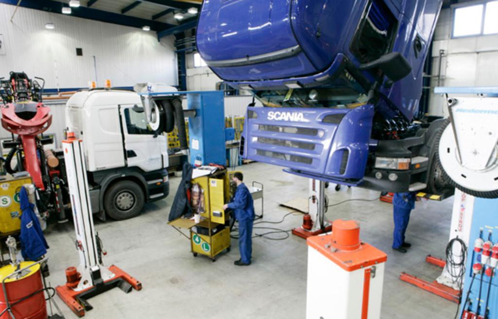 Scania explica su modelo de talleres mecánicos 6M