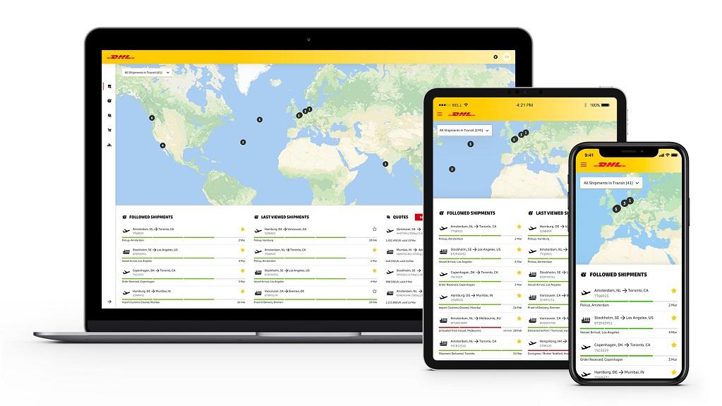 DHL lanza app de seguimiento coorporativo