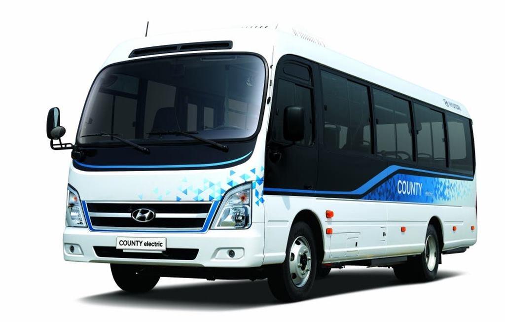 Hyundai estrena bus eléctrico