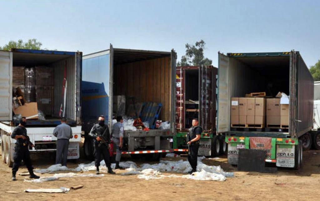 Baja robo a camiones en mayo