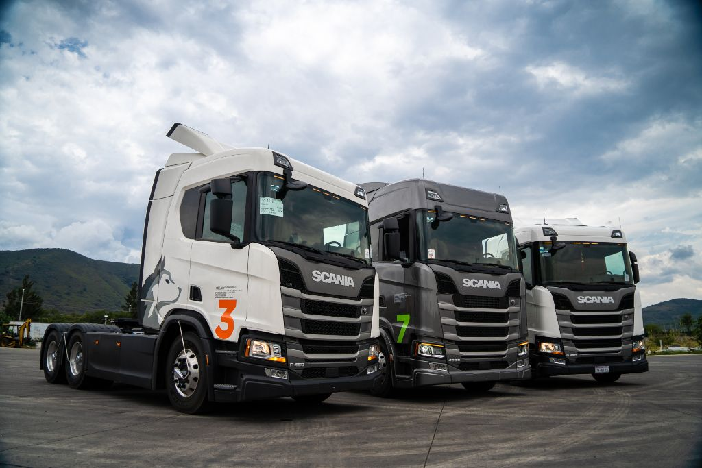 Vensco capacita a sus operadores con Scania