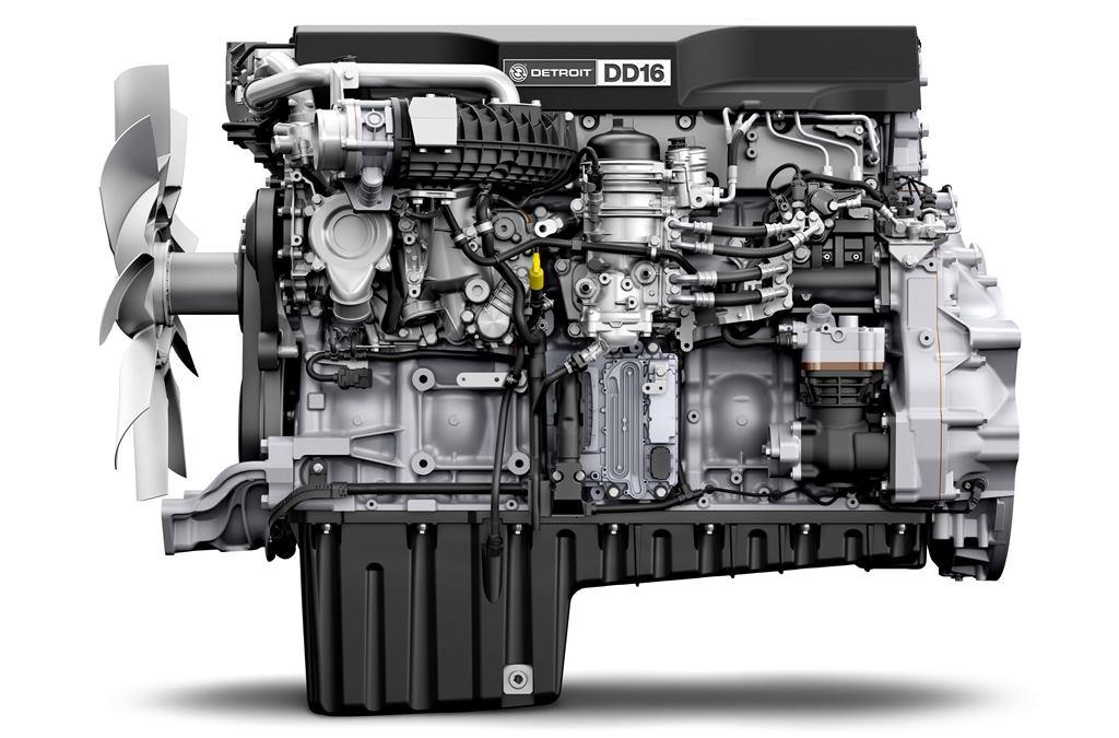 Los nuevos motores de Detroit Diesel