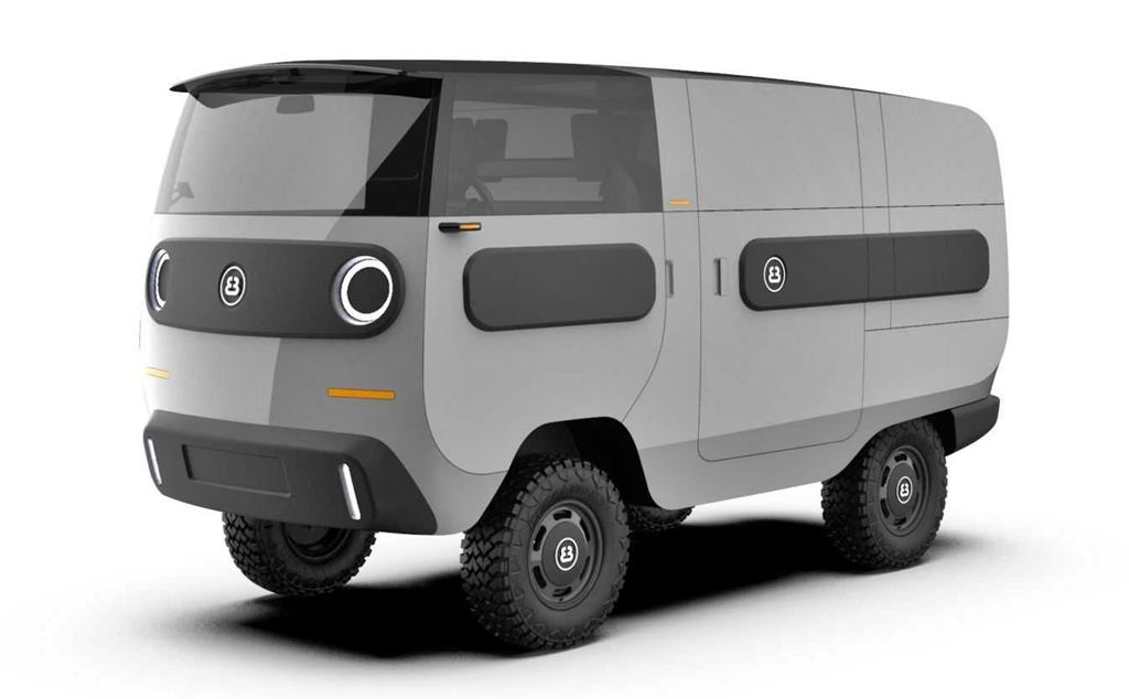 ebussy furgoneta eléctrica