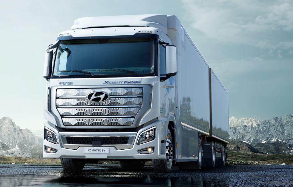 camiones de hidrógeno