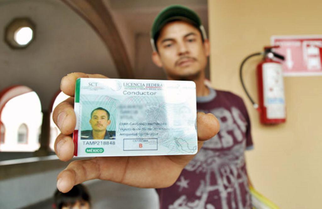 licencia federal del autotransporte