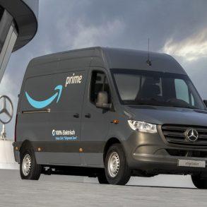 Mercedes Benz y Amazon