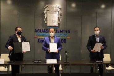 Fedex y Sedec de aguascalientes firman convenio para impulsar a Mipymes para que exporten a los mercados internacionales