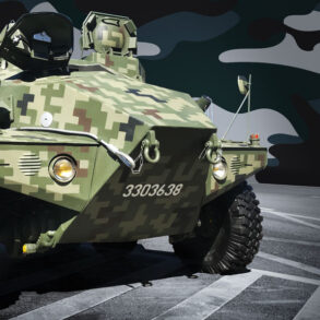 camiones especiales del ejército