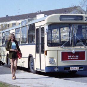autobús eléctrico de MAN