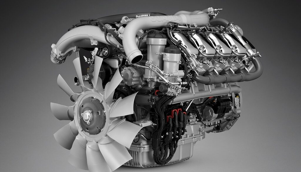 Motores V8 de Scania