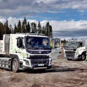 construcción volvo trucks