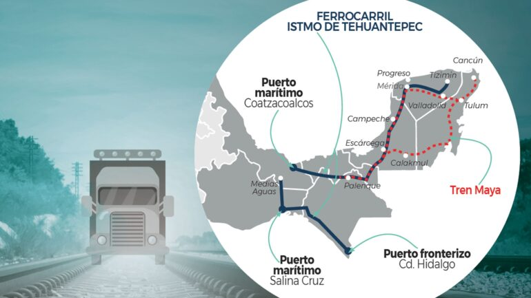 logística tren maya