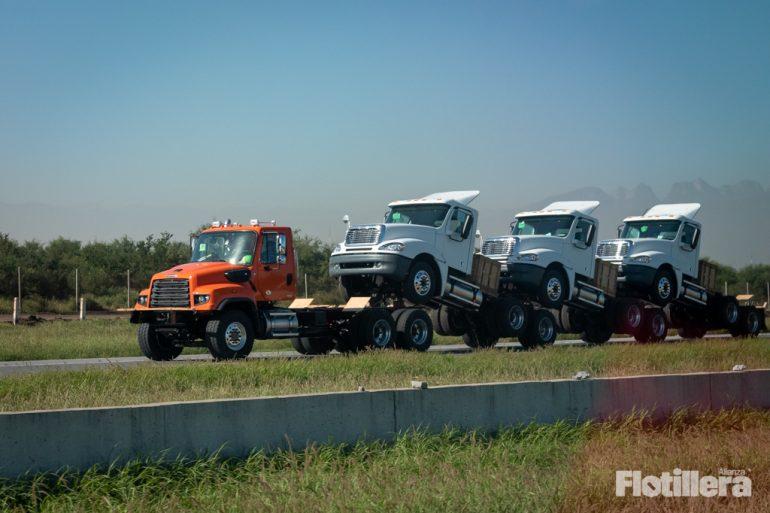 producción y exportación de camiones
