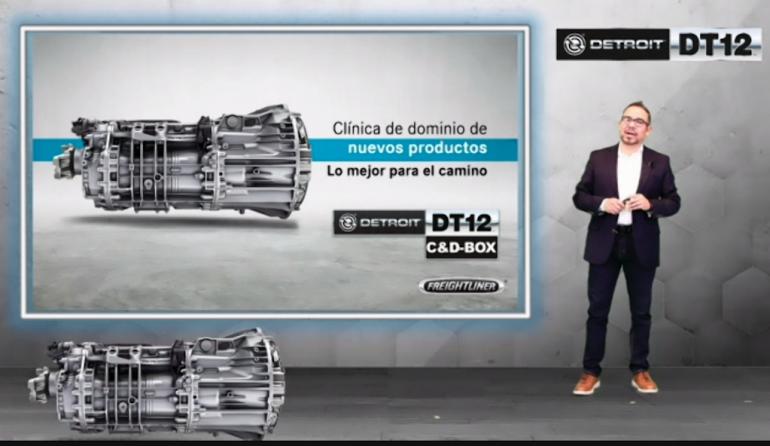 Daimler Trucks presenta su nueva generación de transmisiones automatizadas DT12