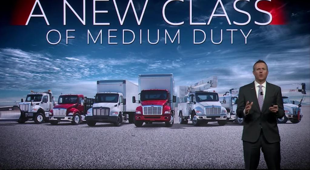 Peterbilt Motors presenta nueva línea de camiones para servicio mediano