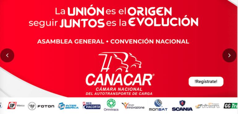 Canacar anuncia las fechas de su Asamblea General y Convención 2021