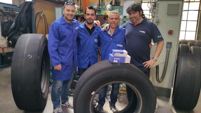 Vipal Cauchos brinda capacitación para empresa asociada en Chipre
