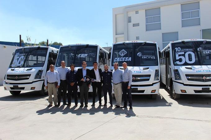 Navistar entrega 50 unidades a Transportes ACNA