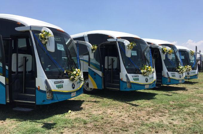 Nuevos autobuses para contribuir con la movilidad