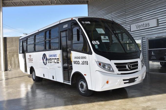 Alianza flotillera mercedes benz abre su 5to center bus for Mercedes benz tijuana
