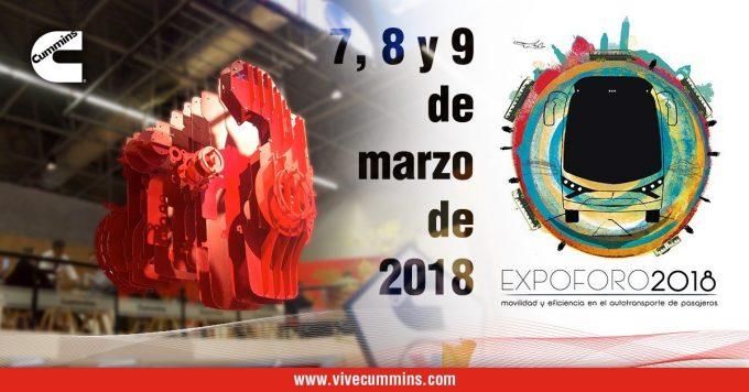 Cummins exhibirá el ISLG en EXPO FORO