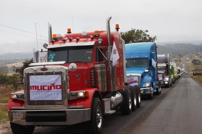 Arranca la Feria del Transporte Ahuazotepec 2019