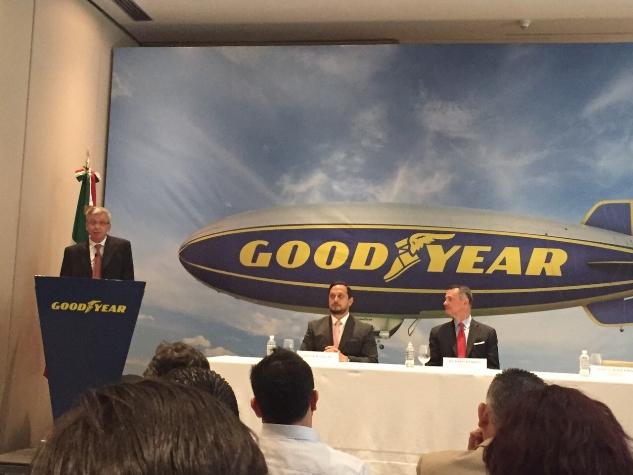 Invertirá Goodyear 550 mdd en nueva planta en San Luis Potosí