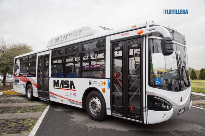 MASA Autobuses aumenta participación el mercado mexicano