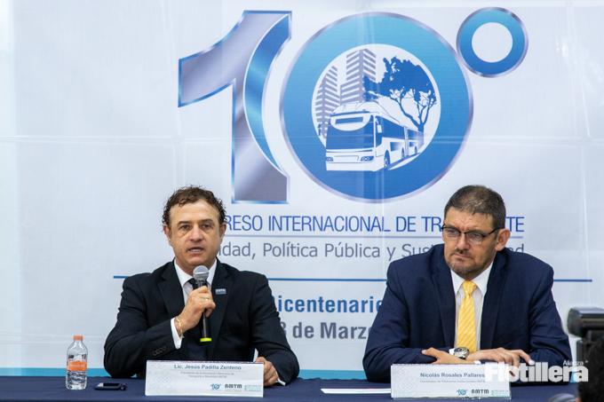 Presentacion del 10 Congraso Internacional de Transporte Alianza Flotillera 002
