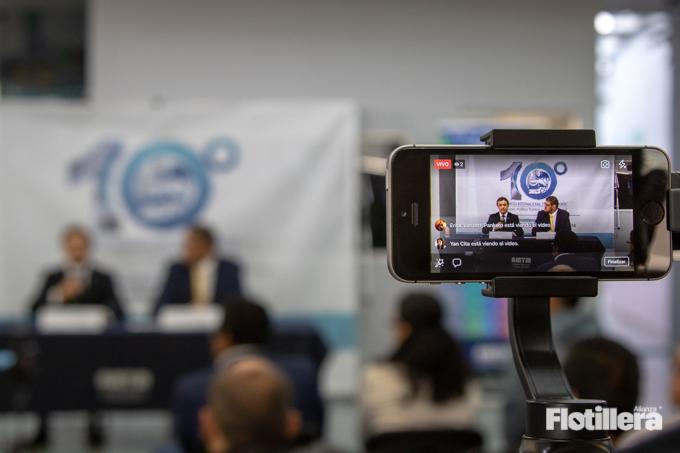Presentacion del 10 Congraso Internacional de Transporte Alianza Flotillera