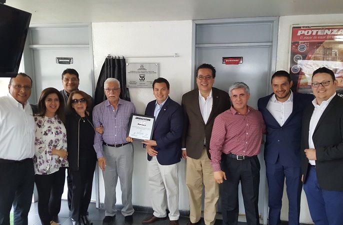 Llantera Aguascalientes Bridgestone festeja 35 años