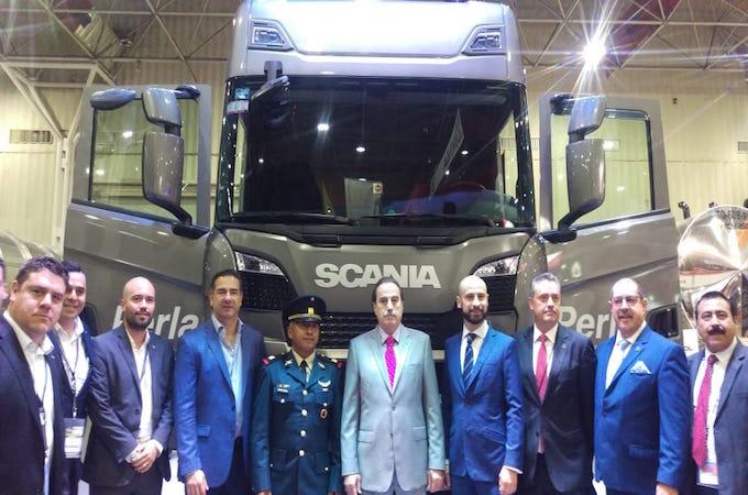 Scania presenta camiones más seguros