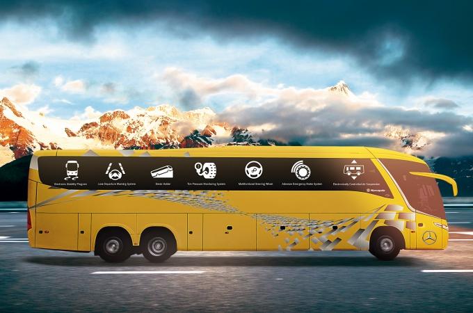 Safety Bus, la seguridad no es opcional para Mercedes Benz Autobuses