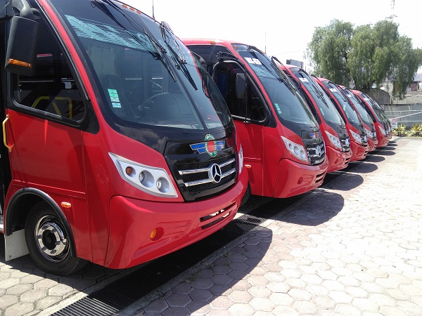 Estrena Autotransportes San Pedro Santa Clara  31 autobuses Mercedes-Benz