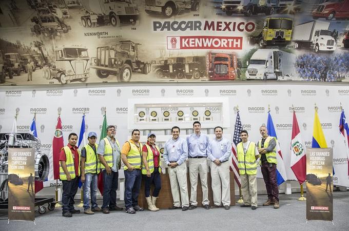 Premia Kenworth a sus colaboradores más dedicados