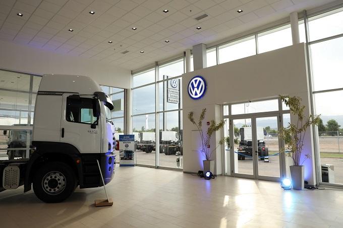 Volkswagen abre nueva distribuidora de camiones en Argentina