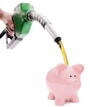 El gasto grande de la gasolina a kugi 2