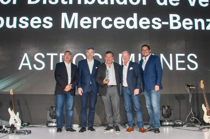 Astrocamiones: Mejor Distribuidor de Ventas Mercedes-Benz